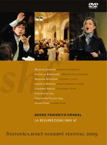 DVD Svatováclavský hudební festival 2009