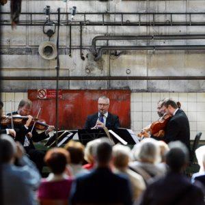 14. 4. 2018, Ostrava-Michalkovice, Zemlinského kvarteto, Igor Františák