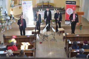 14. 10. 2018, Karviná-Šikmý kostel, Stadlerovo klaronetové kvarteto