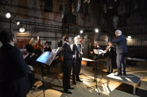 2. 12. 2018, Ostrava-Michalkovice, Haydn Ensemble, Igor Františák, Irvin Venyš