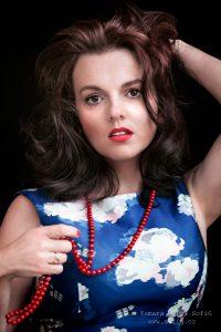 Foto sopranistky Jany Sibera